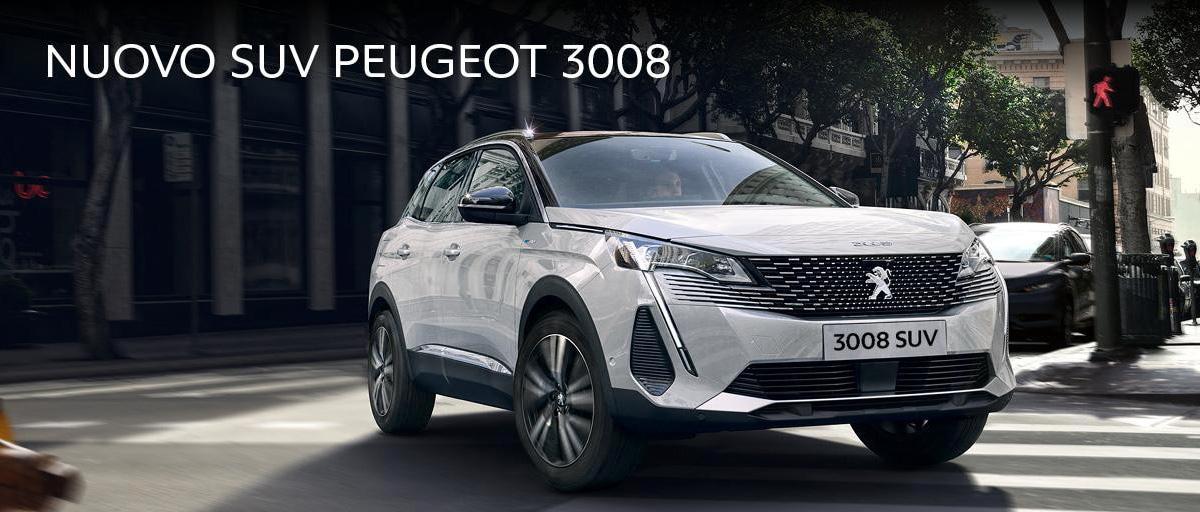 Nuova Peugeot SUV 3008 da Autocentro Carlo Steger