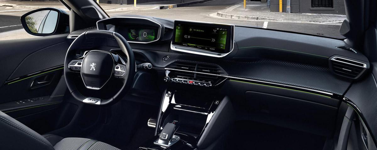 Peugeot 208 cockpit